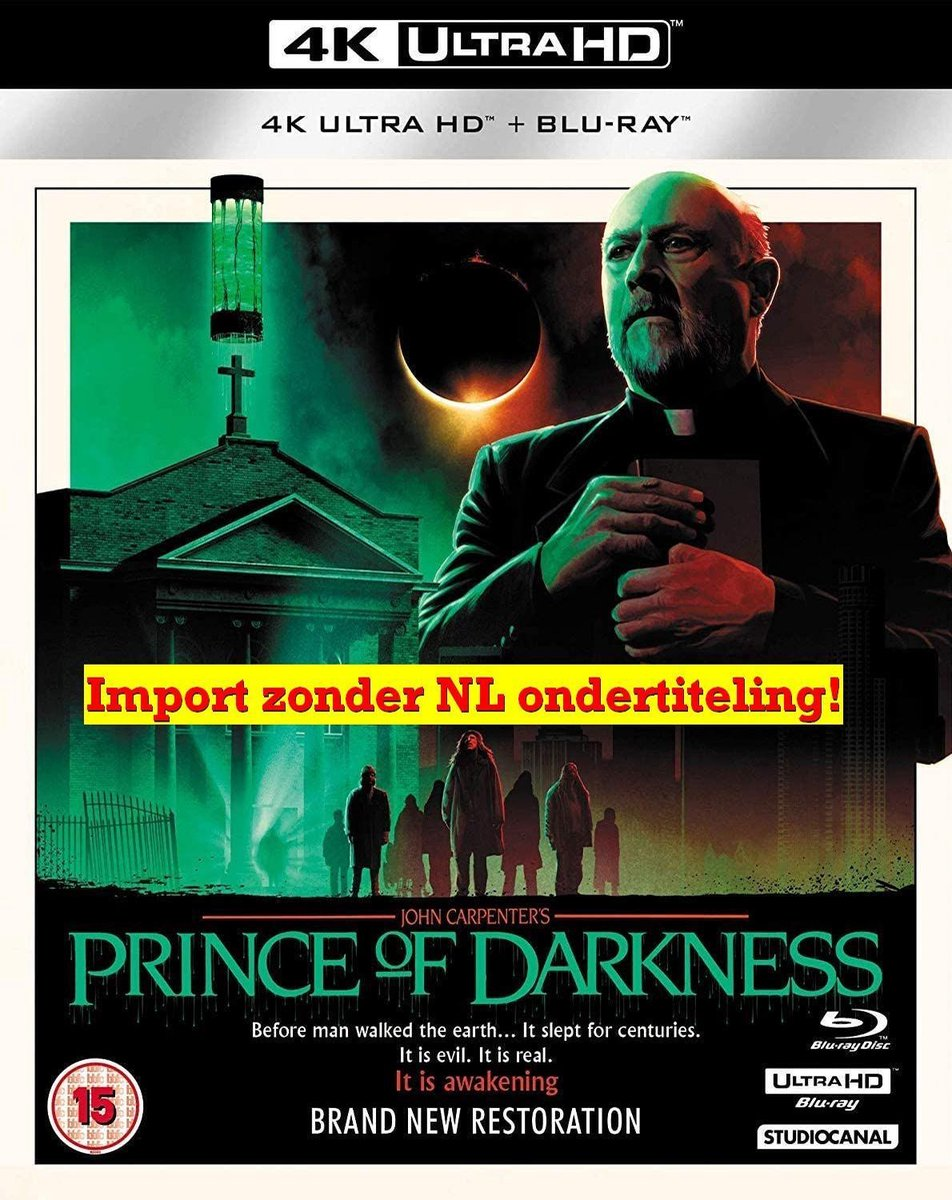 Prince Of Darkness (4K Ultra HD + Blu-ray) [2019]-