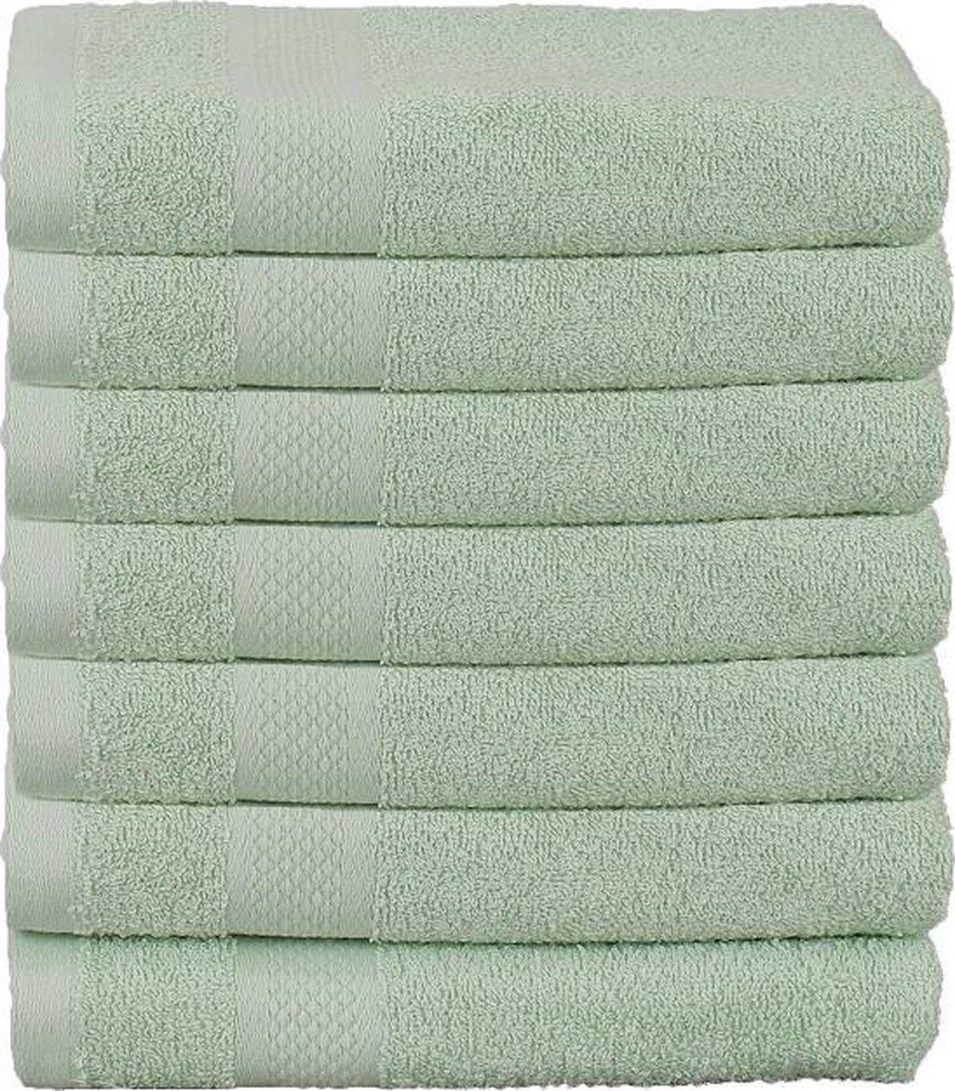 Pure Inno Handdoekset - 14 stuks - Mint groen - 50x100cm - Luxe set