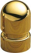 AMIG Meubelknop Kastknop Handgreep – rond Ø18mm – 30mm hoog - massief gepolijst Messing