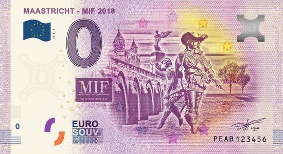 Afbeelding van het spel 0 Euro Biljet 2018 - Maastricht MIF