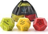 WEBU Workout Dobbelstenen – Fitness - Crossfit - Thuis sporten - Bodybuilding - Krachttraining - Yoga