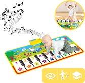 Speelmat Piano Mat Speelset  Dansmat XL Pianomat Baby en Peuter - Waterbestendig - Opvouwbaar - Speelkleed Baby - Keyboard - MINQY