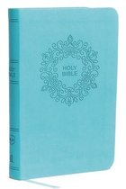 NKJV, Value Thinline Bible, Compact, Leathersoft, Blue, Red Letter, Comfort Print