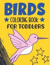 Birds Coloring Book for Toddlers