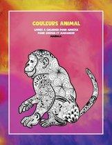Livres a colorier pour adultes pour crayon et marqueur - Mandala - Couleurs Animal