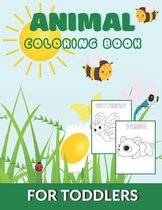 Animal Coloring Book for Toddlers-