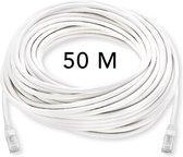 UTP kabel 50 meter - CAT 6 - Internetkabel - Ethernet kabel – Netwerkkabel