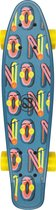 Nijdam FlipGrip Skateboard - Gamester - Blauw/Geel