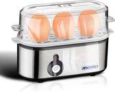 Eierkoker - Eierkoker electrisch - Geschikt voor 3 eieren - RVS