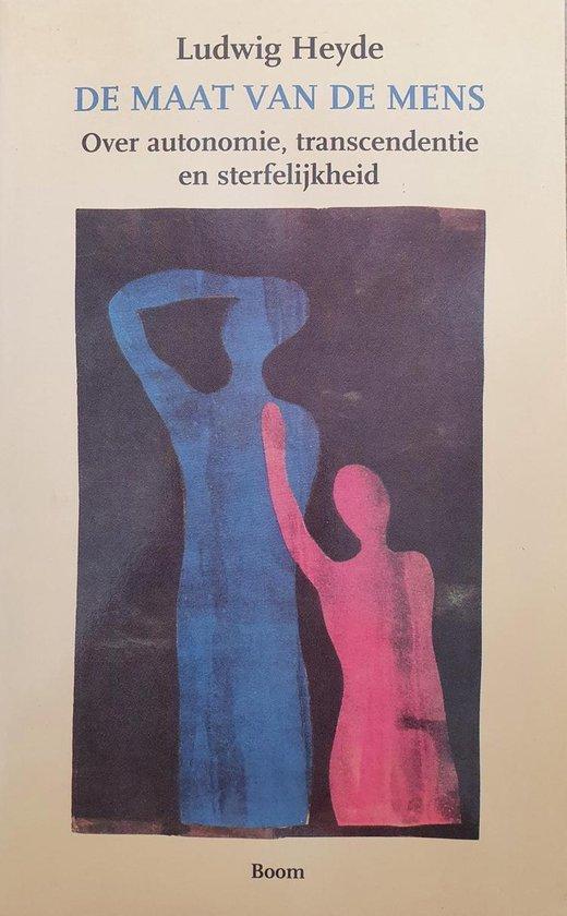 Cover van het boek 'De maat van de mens / druk 1' van Ludwig Heyde