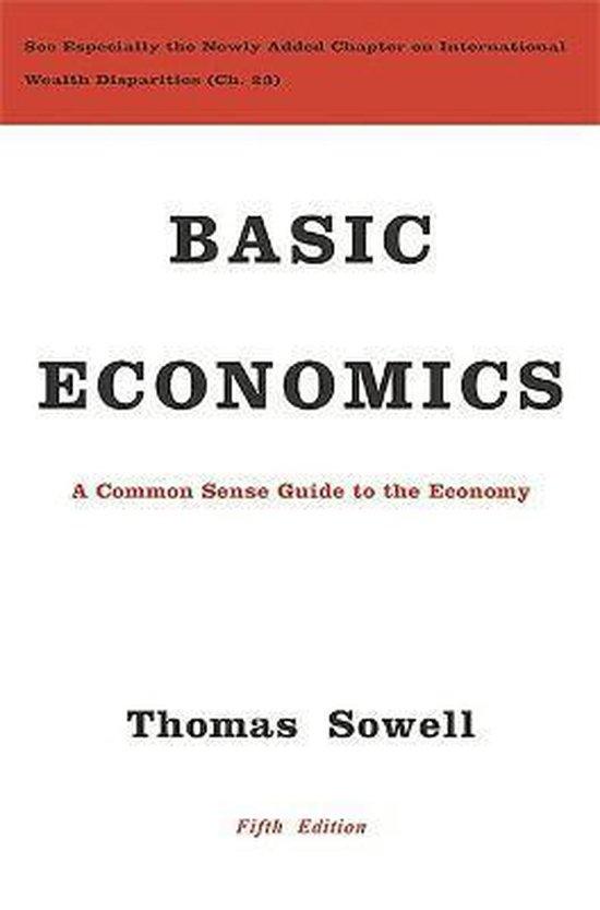 Boek cover Basic Economics van Thomas Sowell (Hardcover)
