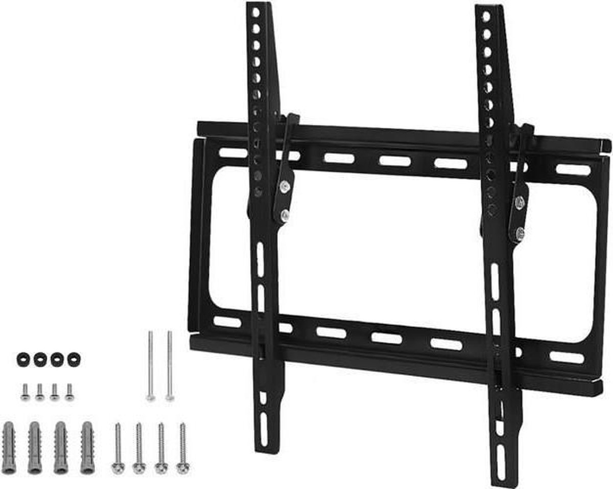 TV Muurbeugel Xstra sterk 26-55 Inch (max 35KG) - Wandhouder Kantelbaar - Geschikt voor elk merk