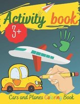 Activity Book - Cars and Planes Coloring Book