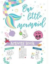 Our Little Mermaid activity book for ages 4-8