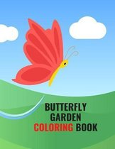 Butterfly Garden Coloring Book