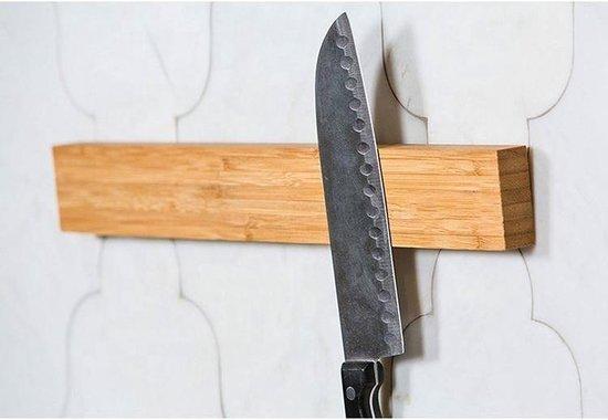 Point-Virgule Messenmagneetstrip - Bamboe - Ophangbaar - 40.5 x 5.5 x 2cm - Point-Virgule