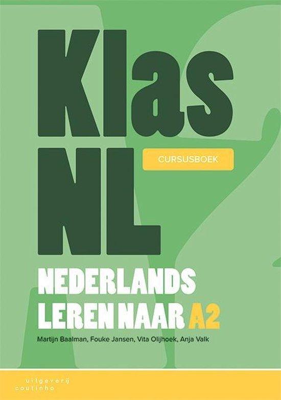 Boek cover KlasNL - Nederlands leren naar A2 - cursusboek 1 van Martijn Baalman (Paperback)