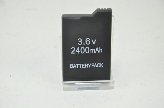 PSP battery pack compatible met Sony PSP