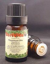 Pepermuntolie 100% 10ml - Etherische Pepermunt Olie van Muntplant