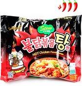 HOT Chicken Ramen Pikante Noedels van Korea Samyang Stew type ( 145g)
