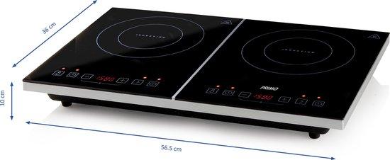 Primo IKP3-WS dubbele inductiekookplaat - touch screen