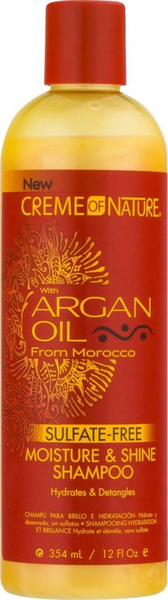 Creme of Nature - Argan Oil Sulfaatvrije Shampoo 354 ml