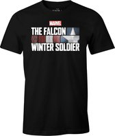 Marvel Falcon and the Winter Soldier T-shirt - Logo