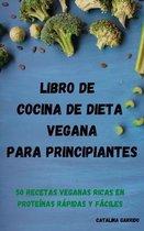 Libro de cocina de dieta vegana para principiantes