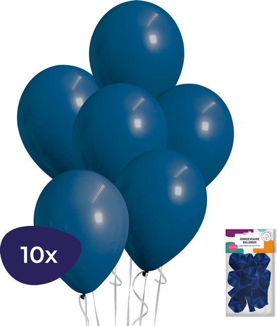 Blauwe Ballonnen - 10 stuks - Donkerblauwe Ballonnen