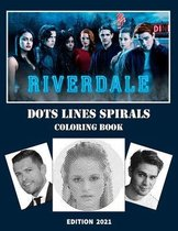 Riverdale Dots Lines Spirals Coloring Book