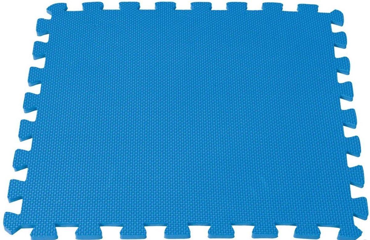 Neka (Intex) Vloertegels - 8 stuks 50x50 cm blauw