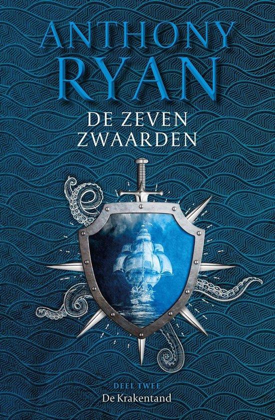 Boek cover De Krakentand van Anthony Ryan (Onbekend)