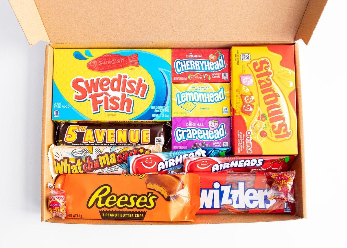 Amerikaans Snoep en Chocolade pakket 12-delig