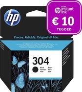 HP 304 - Inktcartridge zwart + Intant Ink tegoed
