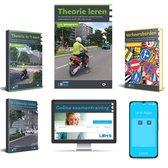 Scooter Theorie Boek 2021 Compleet pakket - Brommer Rijbewijs AM  - Met Theorieboek, Online, Samenvatting en meer - Lens Media