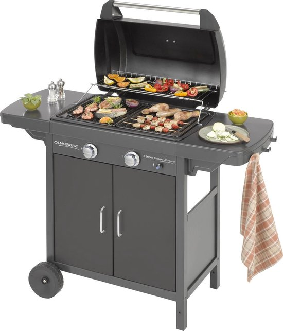 Campingaz 2 Series LX Plus BBQ - Gasbarbecue - 2 Branders - Zwart