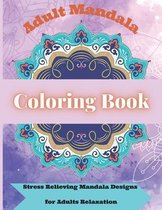 Adult Mandala Coloring Book