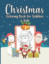 Christmas Coloring Book For Toddlers & Kids: Merry Christmas Day Gift Notebook For Children Ages 2-4, 8-12, Teens & Adults - Jesus and Bible Story Pic