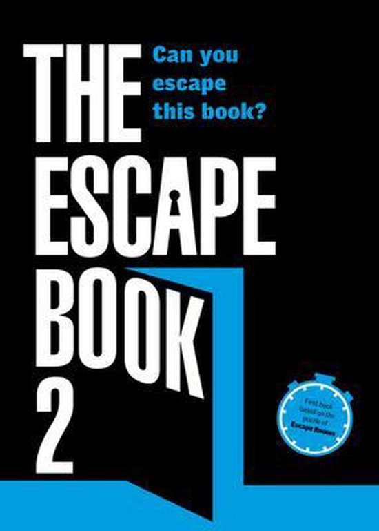 Boek cover The Escape Book 2: Can you escape this book? van Ivan Tapia (Paperback)