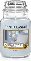 Yankee Candle Large Jar Geurkaars - A Calm and Quiet Place