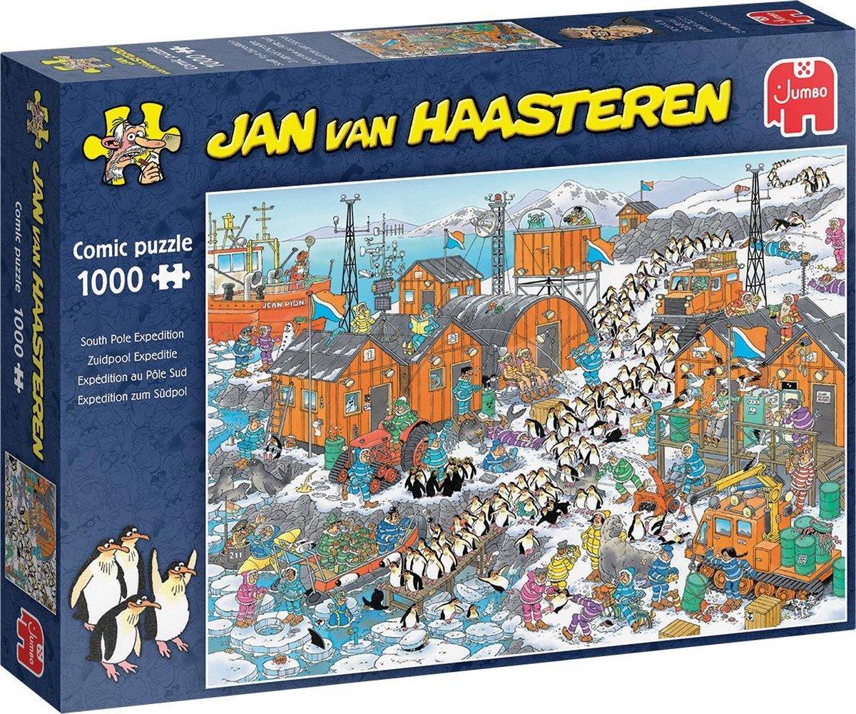 Jan van Haasteren Zuidpool Expeditie puzzel - 1000 stukjes