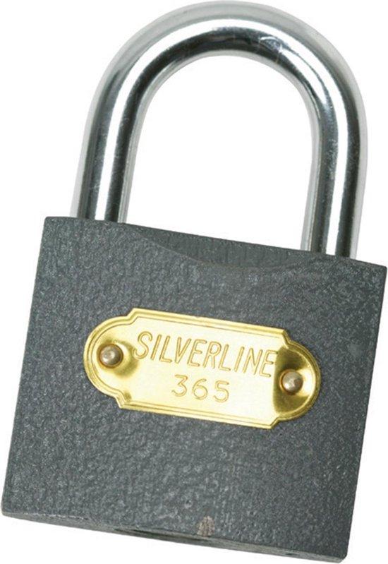 Silverline - Hangslot - 38 mm - Silverline
