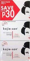 Kojie San Skin Lightening Soap met Kojic Acid 3 stuks  x 100 gram