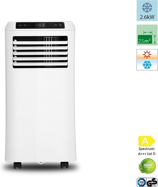 Mobiele airconditioner PAC 4-in-1 - 9000 BTU