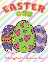 Easter Egg Coloring Book for Adults and Kids