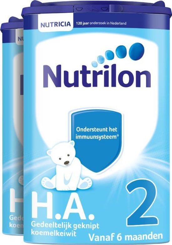 Nutrilon H.A. 2 - Flesvoeding vanaf 6 maanden - 2 x 750 gram