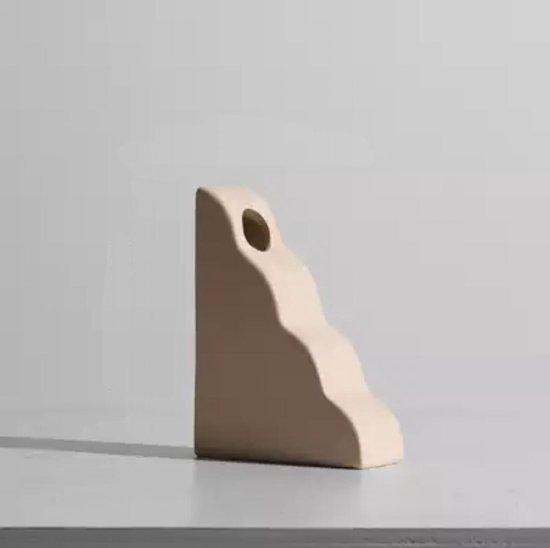 Noorse design vaas van aardewerk - Studio Villette