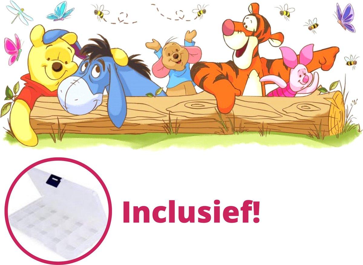 PremiumBenefits - Diamond Painting Winnie de Pooh - Inclusief Opbergdoos en Accessoires - Disney Diamond Painting Pakket Volledig - Winnie the Poeh