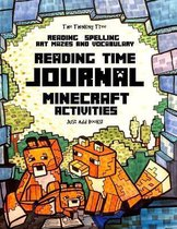 Reading Time Journal - Reading, Spelling, Vocabualry, Mazes & Art - Just Add Books