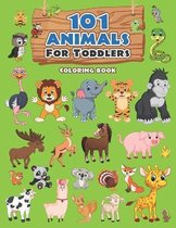 101 Animals For Toddlers Coloring Book